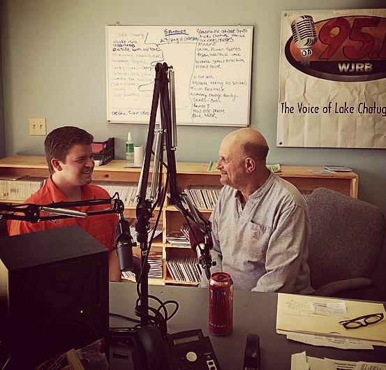 Dr. Dan Eichenbaum and Hayden Duncan